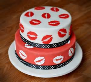 Image result for Lips  cake
