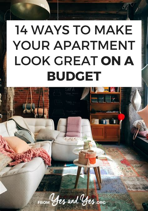 14 Ways To Make Your Apartment Look Great On A Budget