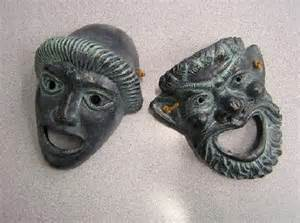 Ancient Greek Theatre Masks