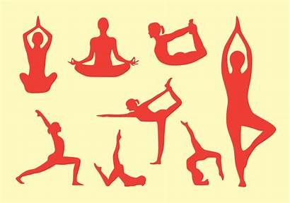 Yoga Pose Poses Clipart Pack Jewelry Chakra