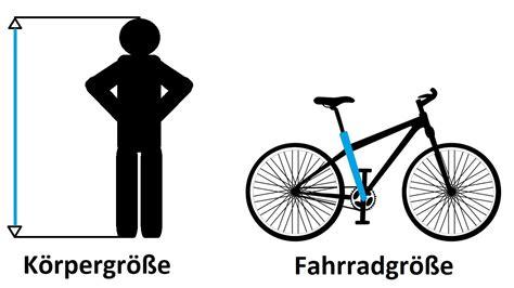 fahrradgroesse tabelle welche fahrradgroesse brauche ich