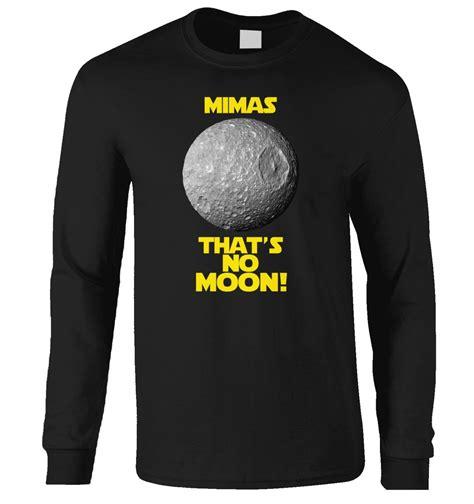 Mimas That's No Moon t-shirt - Somethinggeeky