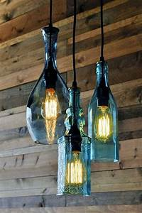 40 gorgeous images to reuse wine bottle into diy projects