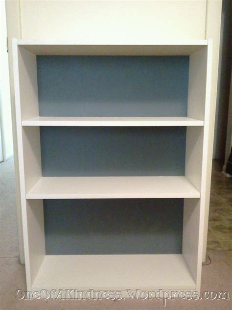A Simple Way To Dressup A Plain Bookcase  One Of A Kindness