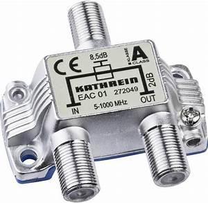 Kabel Tv Verteiler : kabel tv abzweiger kathrein eac 01 1 fach 5 1000 mhz kaufen ~ Orissabook.com Haus und Dekorationen