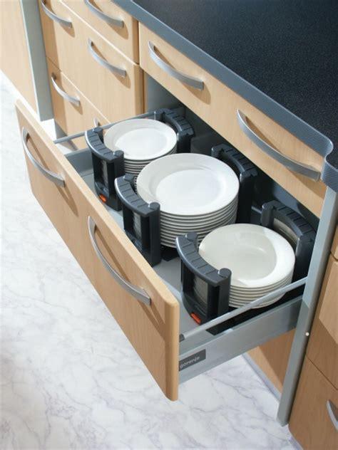 plate holders  drawers rationell variera plate holder modern kitchen drawer