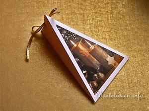 Geschenkverpackung Basteln Vorlage : weihnachten geschenkverpackung dreiecks ~ Lizthompson.info Haus und Dekorationen