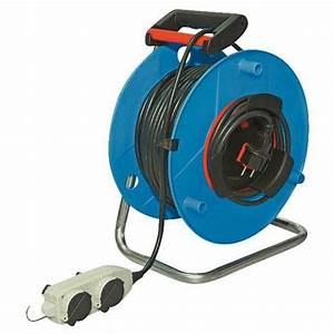 Enrouleur De Cable Electrique : enrouleur de c ble lectrique t te mobile 40 m ~ Edinachiropracticcenter.com Idées de Décoration