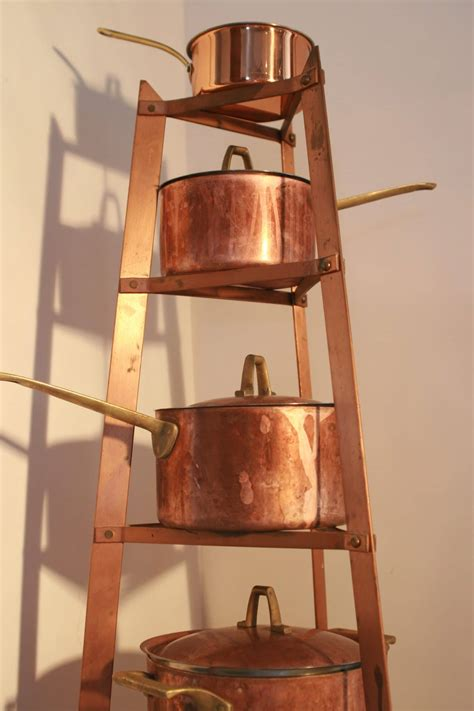 copper pots pans cookware pot market pan burnt kitchen today cleaning display cooking pure brass gas flickr food burned learn