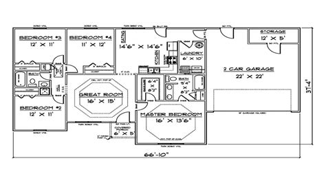 sq ft house plans ranch house plans  sq ft house