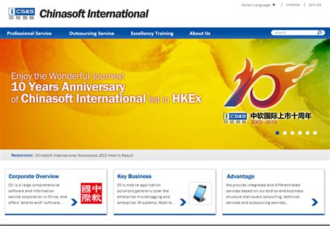 Chinese IT Solutions and Outsourcing Service Provider ...