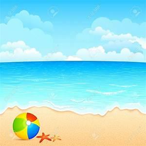 Ocean Scene Backgrounds Clipart