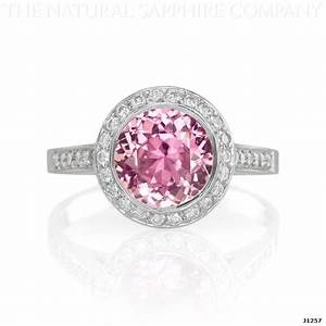 buy affordable inexpensive pink sapphire engagement rings With pink sapphire wedding ring