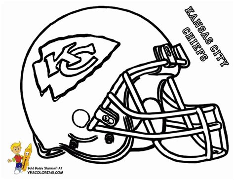 football helmet nfl coloring pages  boys