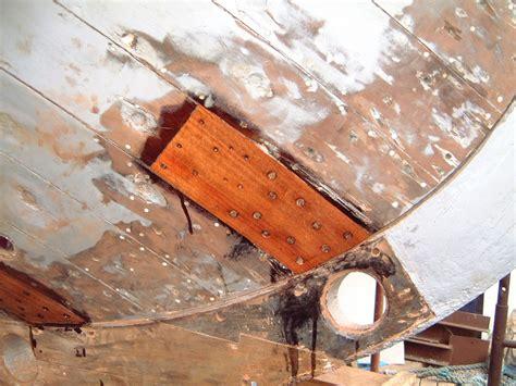 Wooden Boat Hull Repair by Wooden Boat Repair Diagonal Hull Planking Part Ii