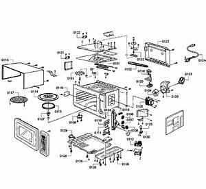 Bosch Model Hmb8050  02 Countertop Microwave Genuine Parts