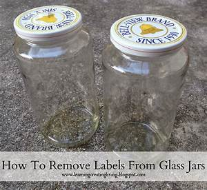 how to remove labels from glass jars katelyn chantel blog With how to label glass jars