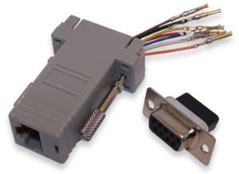 modular rj to db9 adapters winford engineering