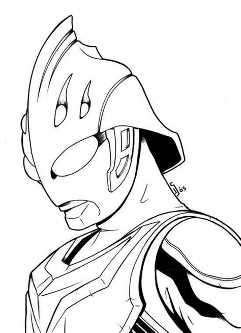 Coloring Ultraman Geed by Ultraman Nexus Coloring Page For Boys