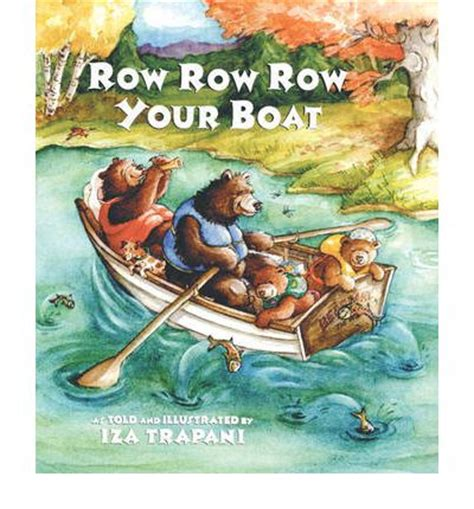 Row Row Your Boat Author by Row Row Row Your Boat Iza Trapani 9781580890779