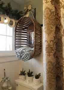 diy vintage bathroom decor idea