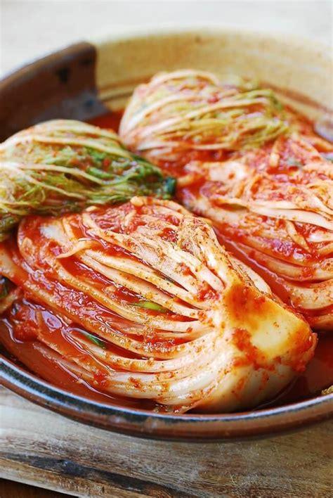 kimchi recipe traditional kimchi recipe korean bapsang