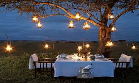 outdoor hanging lantern lights outdoor date night ideas