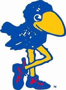 1912 Kansas Jayhawk mascot logo   College Mascots: Big 12 ...