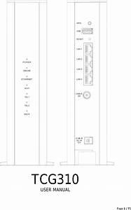 Askey Computer Tcg310 Cable Modem User Manual Rev2