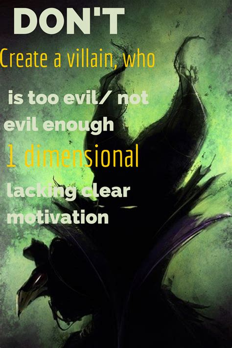 Creating A Great Villain  Now Novel