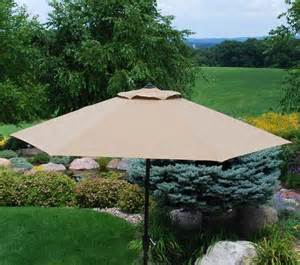patio umbrellas sale menards backyard creations belvedere umbrella at menards 174