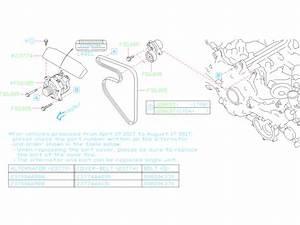 Subaru Impreza Bolt  System  Alternator