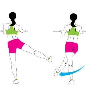 Learn how to dynamic leg and hip stretches get free