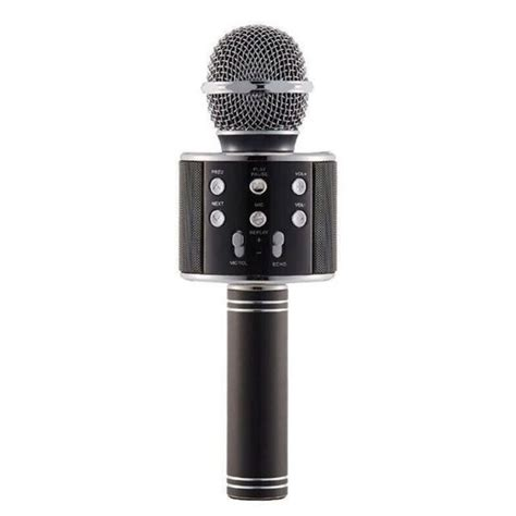 A user can easily record their lectures, notes, meetings, songs, interview, etc. Bluetooth Wireless Microphone Speaker Handheld Microphone Karaoke Mic Music Player Singing ...