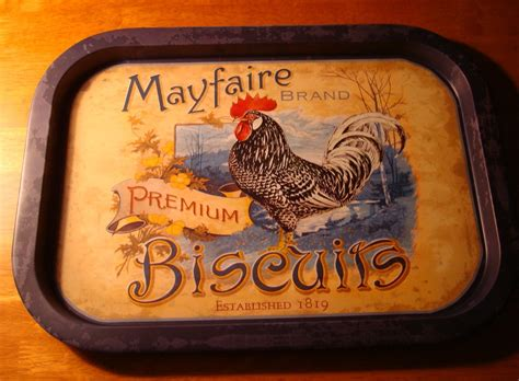 primitive rooster kitchen decor mayfaire biscuits rooster advertising kitchen tray chicken