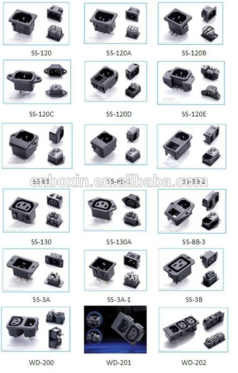 Boat Plug Types by Hot Selling Alibaba China Iec 320 C20 Male Connector
