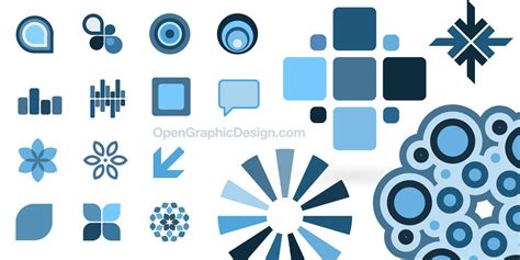 design elements simple graphic symbols download design icons vector elements