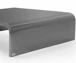 Table Basse En Acier : table basse halfy carr e en acier l1200 x l1120 x h350 tables tables basses citysigner ~ Melissatoandfro.com Idées de Décoration