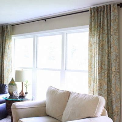 how to make curtains from tablecloths repurpose tip junkie