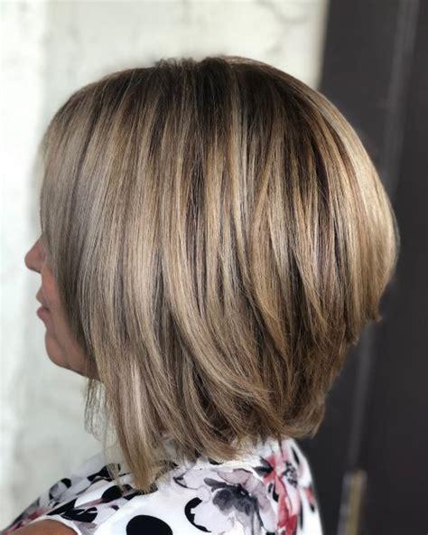 cute stacked bob haircuts trending