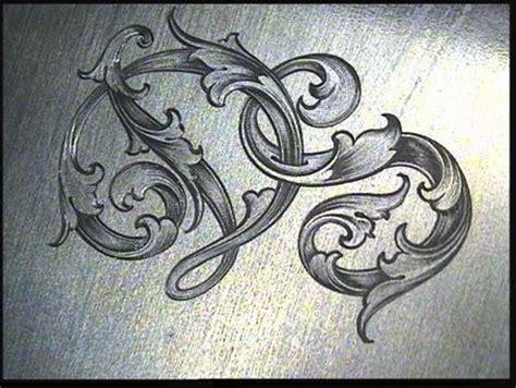 sam alfanos tips tricks  hand engravers leaf script typography pinterest beautiful