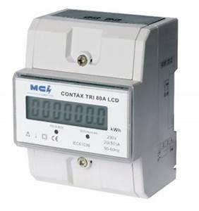 Sous Compteur Electrique Triphasé : compteur electrique triphas 80a 50kwh branchement ~ Dailycaller-alerts.com Idées de Décoration