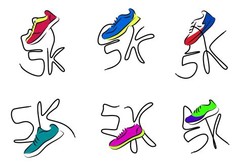 Running Shoes Free Vector Art  (1663 Free Downloads