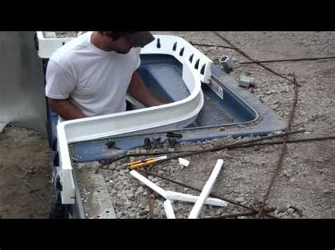 cantilever pool coping youtube
