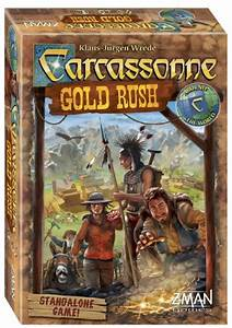 Carcassonne Gold Rush review by Board Game Extras | Board ...
