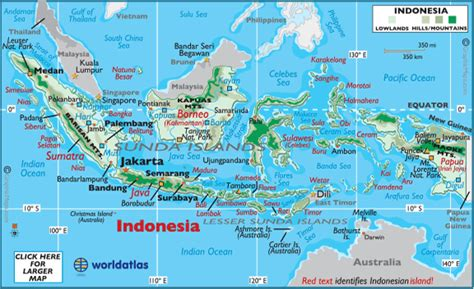 indonesia map geography  indonesia map  indonesia