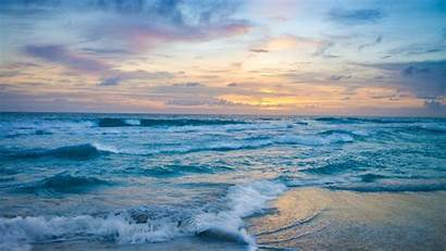 Ocean Waves Sunset Wallpapers Nature 4k Backgrounds