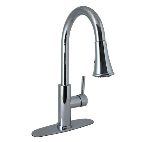 Pull Kitchen Faucet by Tosca 2 Handle Wall Mount Pull Sprayer Kitchen Faucet