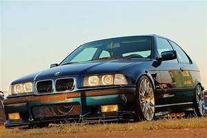 Very clean BMW e36 compact on OEM BWM Styling 216