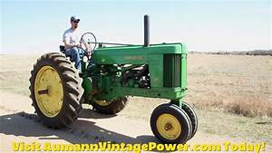 Beautiful Original John Deere Model 60 Tractor